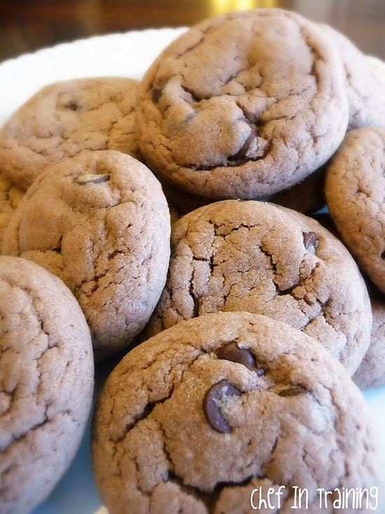 Brownie Batter Cookies