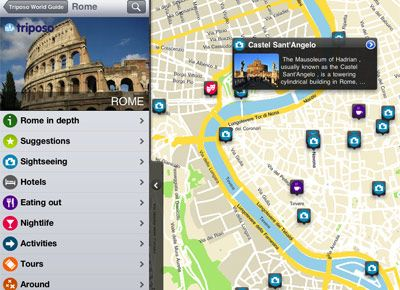 Triposo phone App. Access Travel/City guides on your phone without an internet connection or roaming charges.
