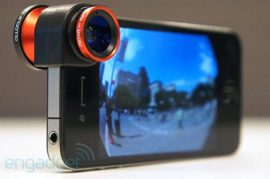 want to take pictures but hate carrying around something else? Check out this cool lens attachments for the iPhone.