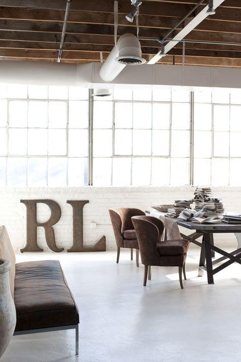 photographer Rob Brinson's industrial Atlanta loft studio