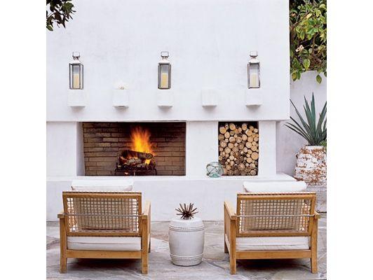 Outdoor Comfort Patio - Home and Garden Design Ideas