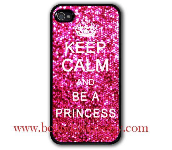 Keep Calm & Be A Princess iPhone Case - $9.99