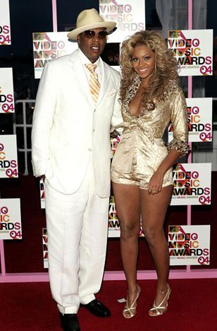 The famous duo glowed on the 2004 red carpet of the VMAs