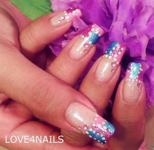PATCHES NAIL ART DESIGN - Nail Art Gallery by NAILS Magazine