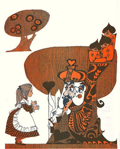 Alice in Wonderland Illustrated by Brigitte Bryan
