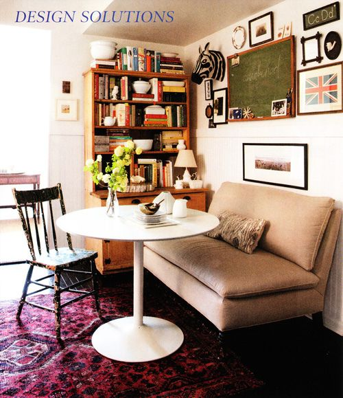 love the rug for nook