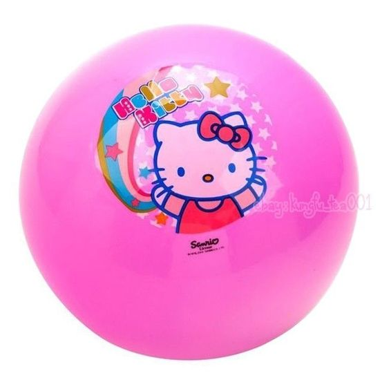 Hello Kitty Yoga Workout Exercise Fitness Ball