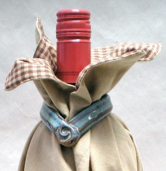 wine bottle gift wrapper
