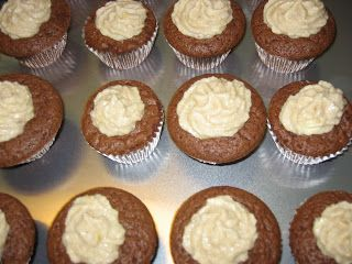 Chocolate Chai Spice: The First Cupcakes - from Cupcake Project