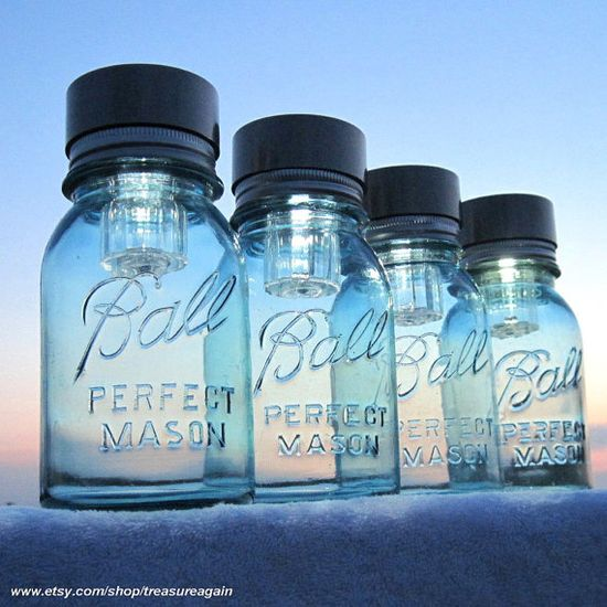 Mason Jars Solar Lights