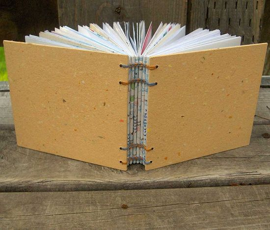 Recycled Handmade Journal