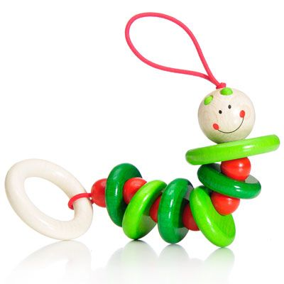 Klapperwurm from HABA, $16.64 - via @BabyCenter