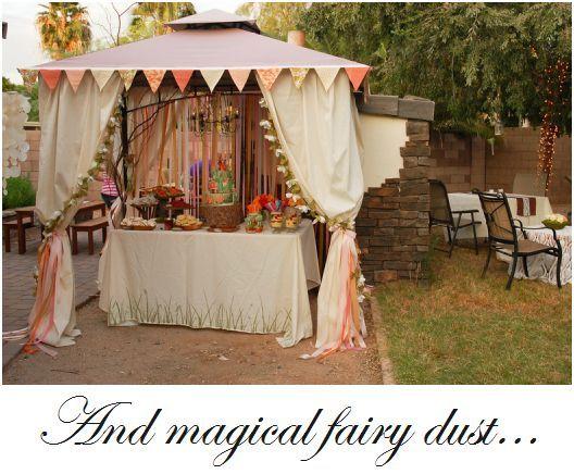 fairy birthday party 2 fairy dust