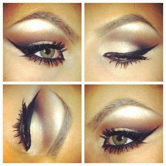 perfect eye makeup #beauty #makeup