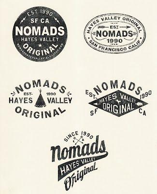 Vintage logos.