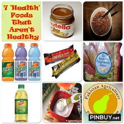 7 Health Foods That Arent Healthy - PinBuy