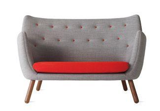 DWR, Poet Two-Seater Sofa, designed by Finn Juhl