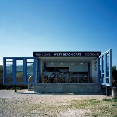 west beach cafe  england   (via 149 sullivan st)