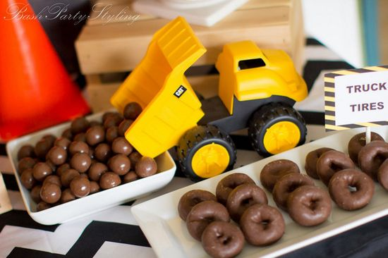Fun ideas for a Construction Party #construction #party