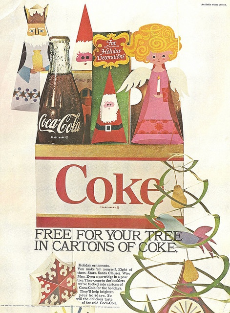 Coke ad from the 1960s