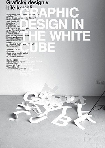 GRAPHIC DESIGN IN THE WHITE CUBE / Mevis & Van Deursen