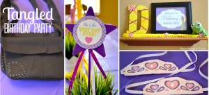 Tangled Birthday Party, Part 1 - Happy House of 5