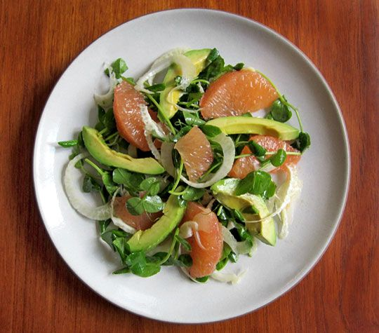 Avocado & Grapefruit Salad by thekitchn #Healthy #Salad #Avocado #Grapefruit #thekitchn