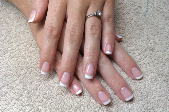 Brides nails  Orly gel polish