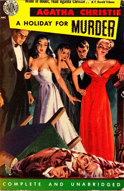 A Holiday for Murder by Vintage Cool 2, via Flickr