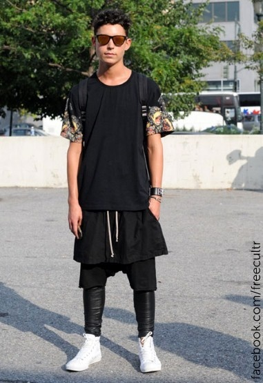 Men's street style from New York Fashion Week spring/summer 2013