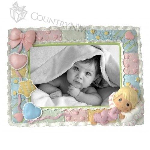 Precious Moments - Baby - Girl Photo Frame