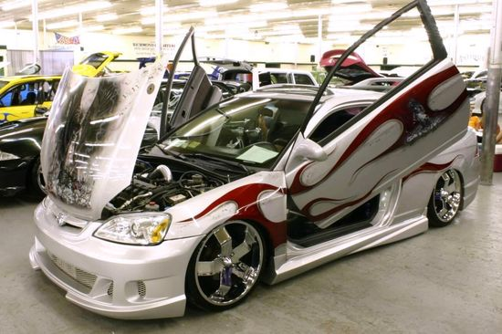 tricked out cars