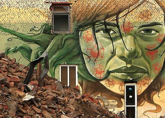 Street Art Belgium  Inspiration by Lake in Berlin!