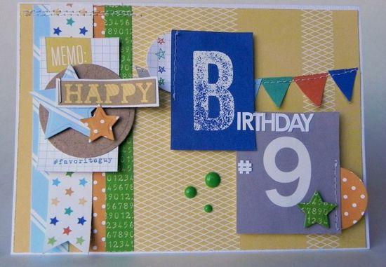 Happy Birthday #9 - Scrapbook.com