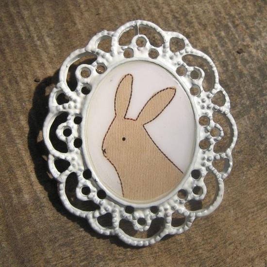 Bunny Pin