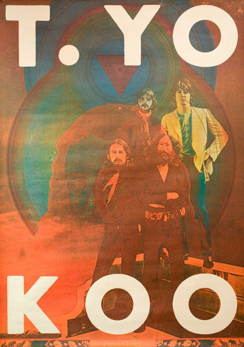 Japanese Poster: The Beatles. Jesus Christ. Tadanori Yokoo. 1972 - Gurafiku: Japanese Graphic Design