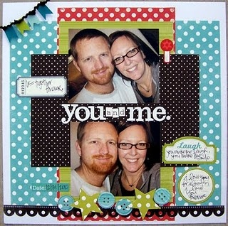 Love this scrapbook page!