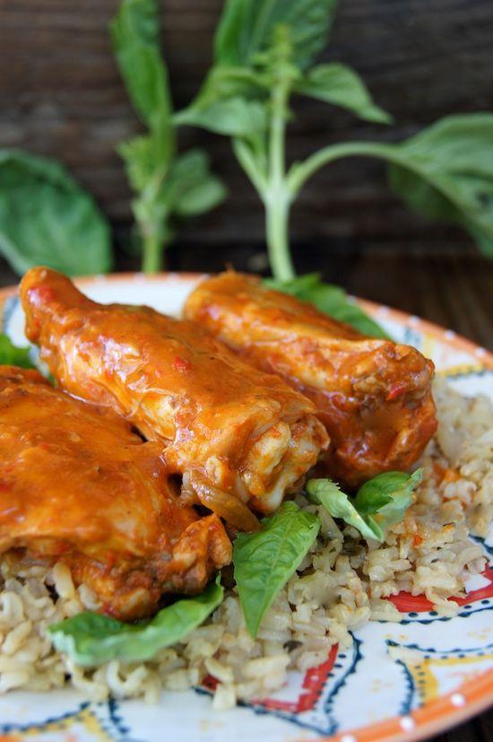 Sweet Pepper Roasted Chicken Recipe