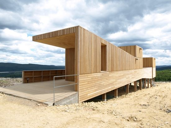 #architecture : Kielder Observatory / Charles Barclay Architects
