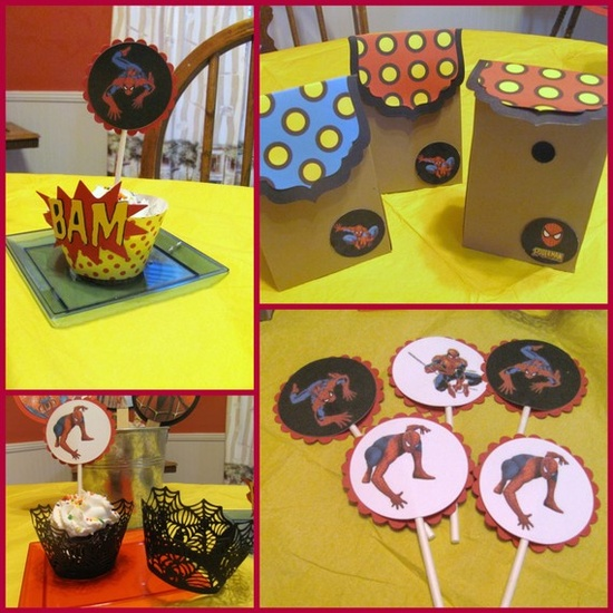 Ultimate Spiderman Birthday Package by FavorMeDesigns on Etsy, $85.00