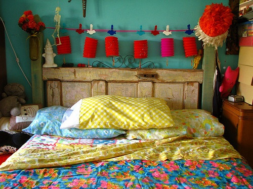 Bedroom Love. Cute and colourful