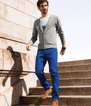 Colored pants done right