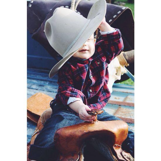 Baby boy cowboy photos
