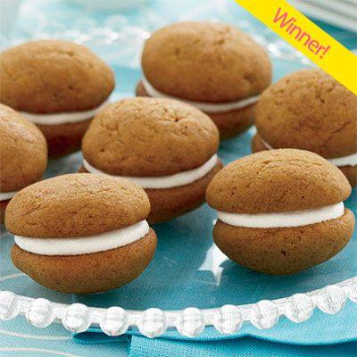 Pumpkin Whoopie Pies - Pumpkin Dessert Recipes - Delish.com