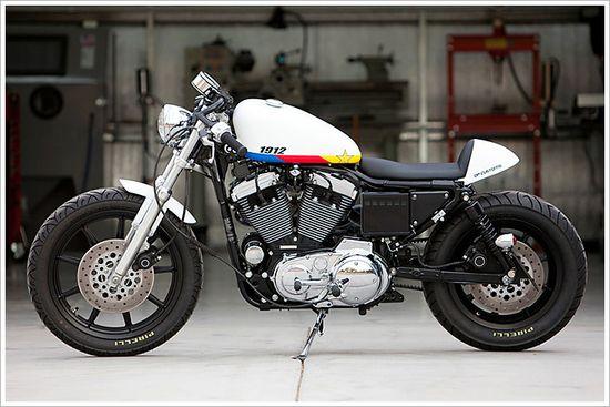 "DP Customs '99 Harley Sportster -""Centennial"" - Pipeburn - Purveyors of Classic Motorcycles, Cafe Racers & Custom motorbikes"