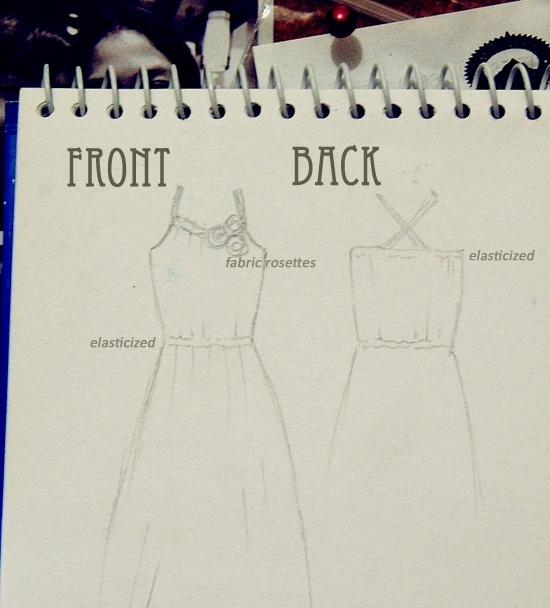 easy DIY Maxi dress instructions!