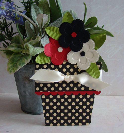 flower pot card
