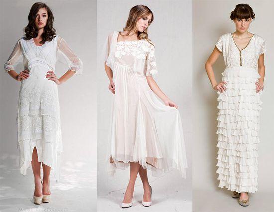 vintage styled dresses