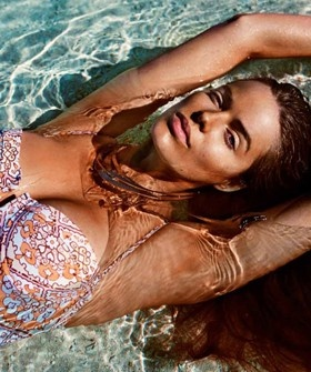 Plus Size Model Robyn Lawley Causes Major Bikini Envy For An Insanely Hot Swimsuit Editorial for Australian Cosmopolitan.  [October 2012]