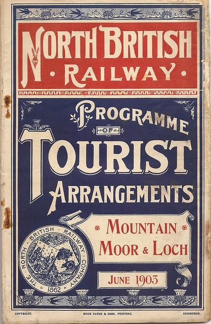 North British Railway - tourist timetables - June 1903